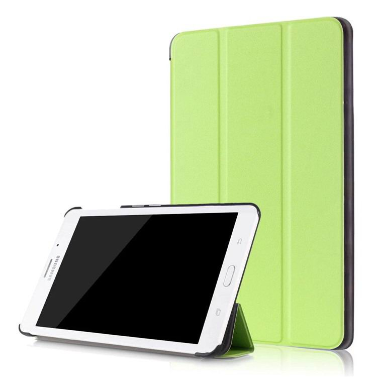 galaxy tab j business multicolor pattern case with stand Green: