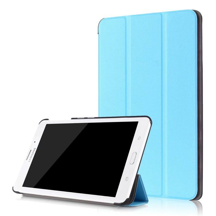 galaxy tab j business multicolor pattern case with stand Sky blue: