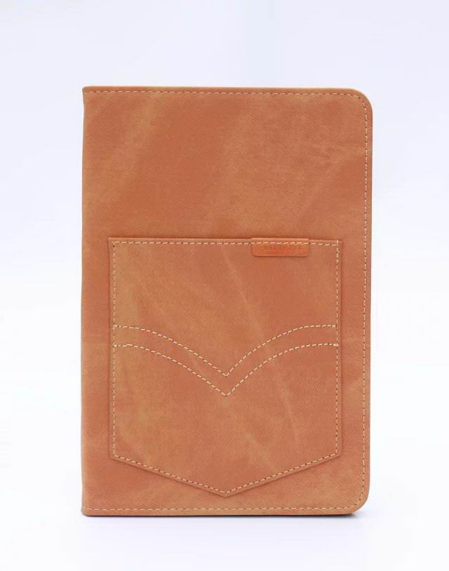 case of denim with a pocket for apple ipad 0
