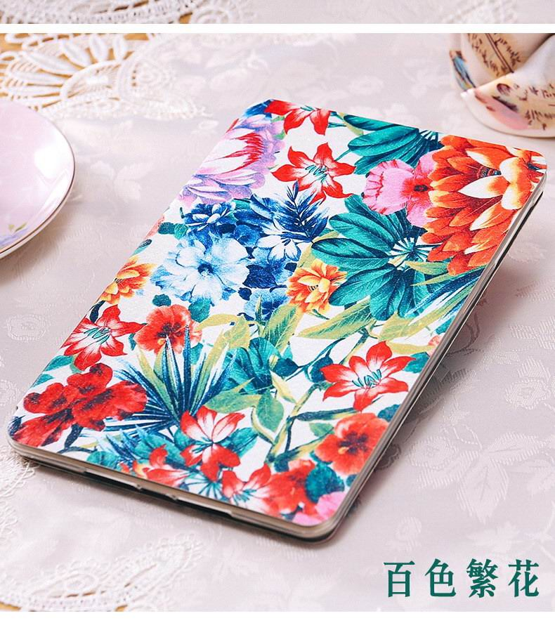 Case with bright flowers picture for Apple iPad Mini 1, iPad Mini 2, iPad Mini 3, iPad Mini 4, Apple iPad Air 1, iPad Air 2, Apple iPad 2, iPad 3, iPad 4, Apple iPad Pro 9.7 inch