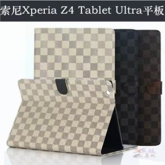 Case and cover with busness style and multicolor pattern for Sony Xperia Z4 Tablet SGP771 SGP712