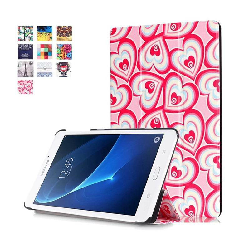 galaxy tab a 7 0 2016 case with business style and multi painting illustrations Fantastic sweetheart: