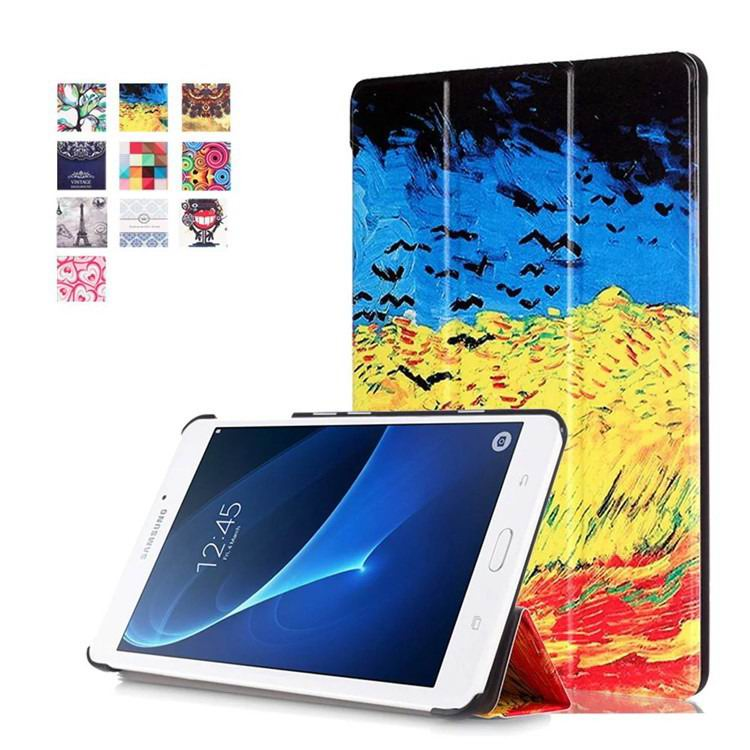 galaxy tab a 7 0 2016 case with business style and multi painting illustrations Catcher rye:
