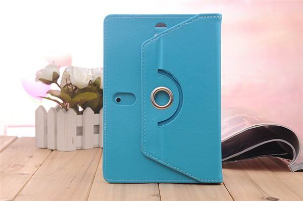 xperia z4 tablet case with business style and rotation stand Blue: