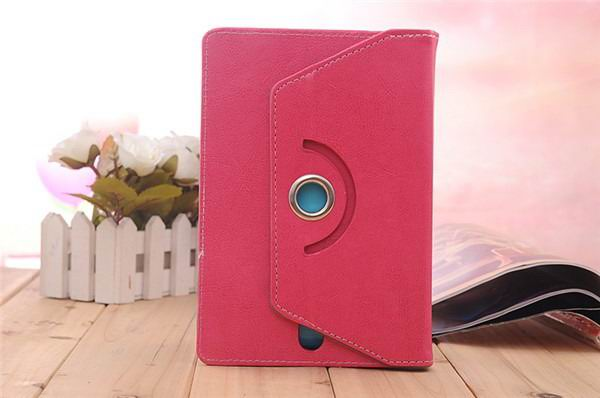 xperia z4 tablet case with business style and rotation stand Rose red: