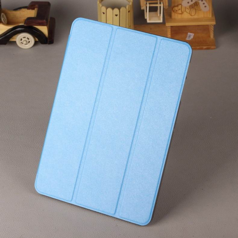 galaxy tab a 7 0 2016 case with business style multicolor pattern transparent cover and stand Sky blue: