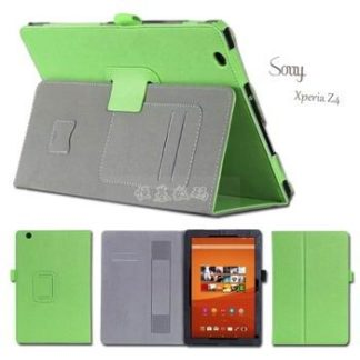 Case with business style, pockets, wrist loop and stand for Sony Xperia Z4 Tablet SGP771/712X