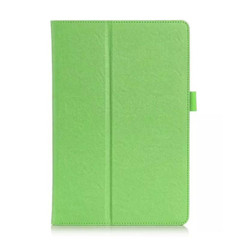 xperia z4 tablet case with business style pockets wrist loop and stand712x Green: