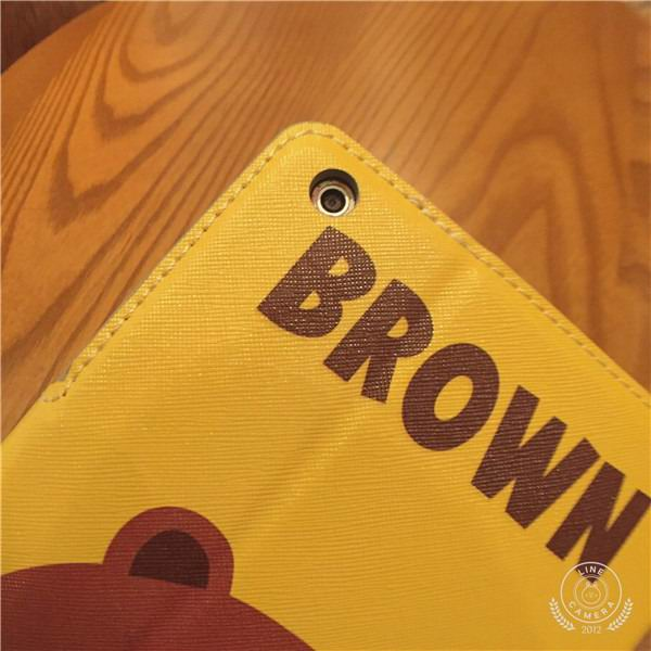 Case with cartoon brown bear illustration for iPad 2, iPad 3, iPad 4, iPad Mini 1, iPad Mini 2, iPad Mini 3, iPad Mini 4, iPad Air 1, iPad Air 2