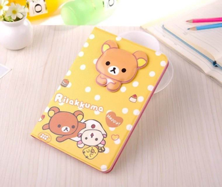 Case with cute bear picture for Apple iPad Mini 4