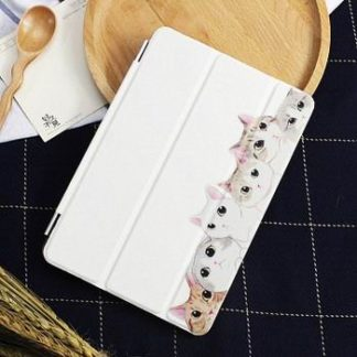 Case with cute picture of cats for Apple iPad Pro 9.7 inch, Apple iPad 2, iPad 3, iPad 4, Apple iPad Mini 1, iPad Mini 2, iPad Mini 3, iPad Mini 4, Apple iPad Air 1, iPad Air 2