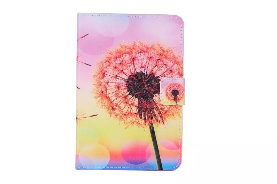case with dandelion print for apple ipad 0