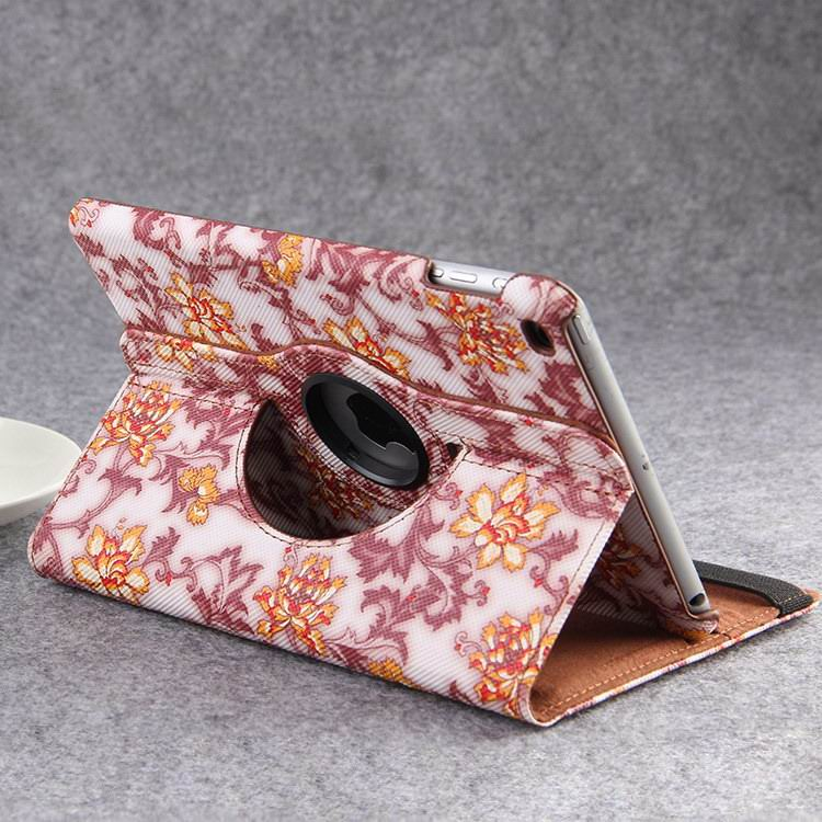case with flower pattern for apple ipad 00