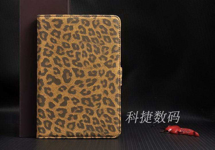 case with leopard pattern for apple ipad 0