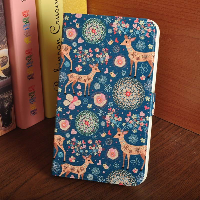 galaxy tab a 7 0 2016 case with multi illustration pattern Deer: