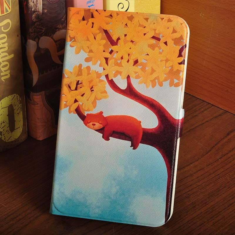 galaxy tab a 7 0 2016 case with multi illustration pattern The tree bears: