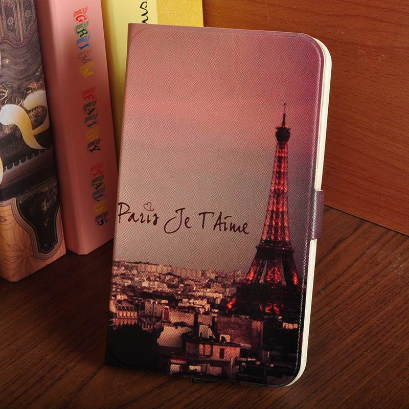 galaxy tab a 7 0 2016 case with multi illustration pattern The dusk Tower: