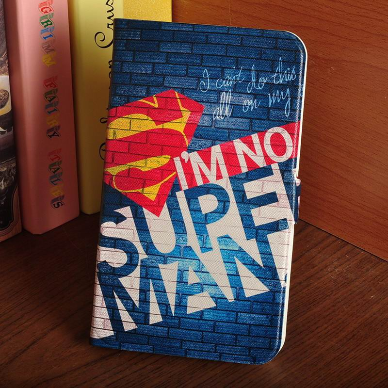 galaxy tab a 7 0 2016 case with multi illustration pattern I'm not Superman: