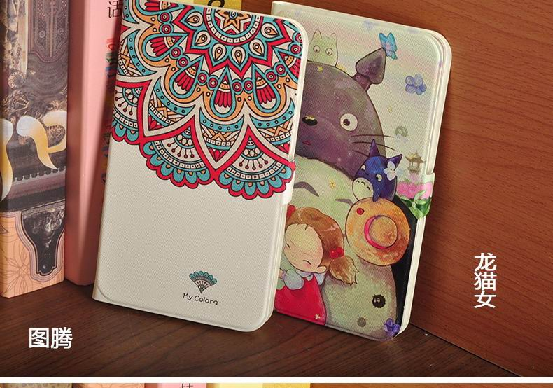 galaxy tab a 7 0 2016 case with multi illustration pattern