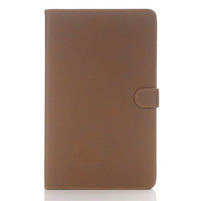 galaxy tab a 10 1 2016 case with multicolor leather pattern and business style Camel: