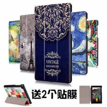 case with stand and multi painting illustrations 00
