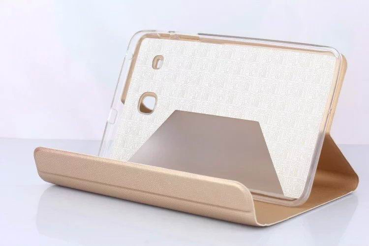 Case with stand and multicolor pattern for Samsung Galaxy Tab E 8.0 T377