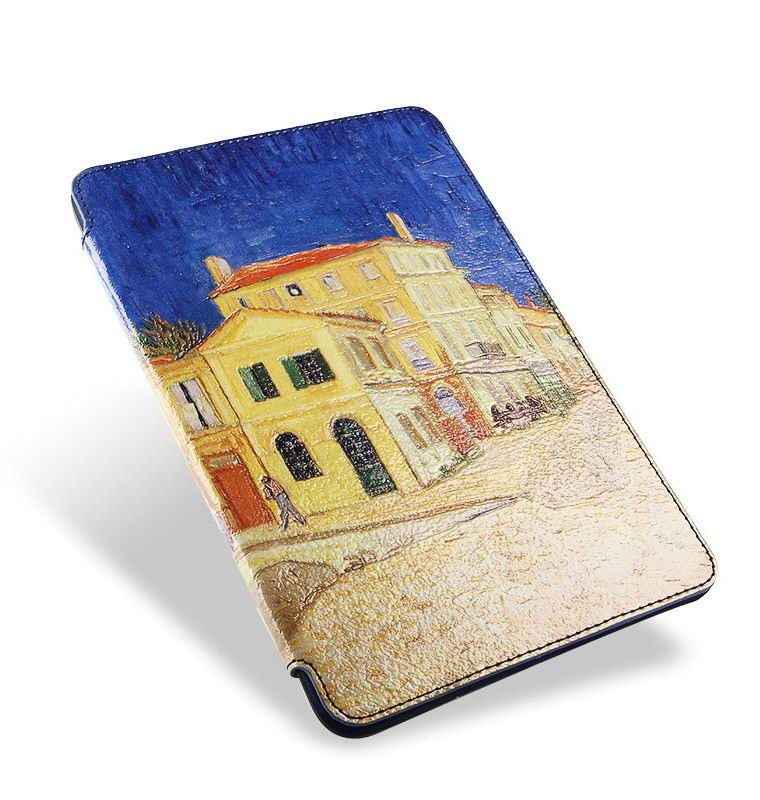Case with Van Gogh oil painting such as the yellow house, Starry night and other for Apple iPad Mini 1, iPad Mini 2, iPad Mini 3