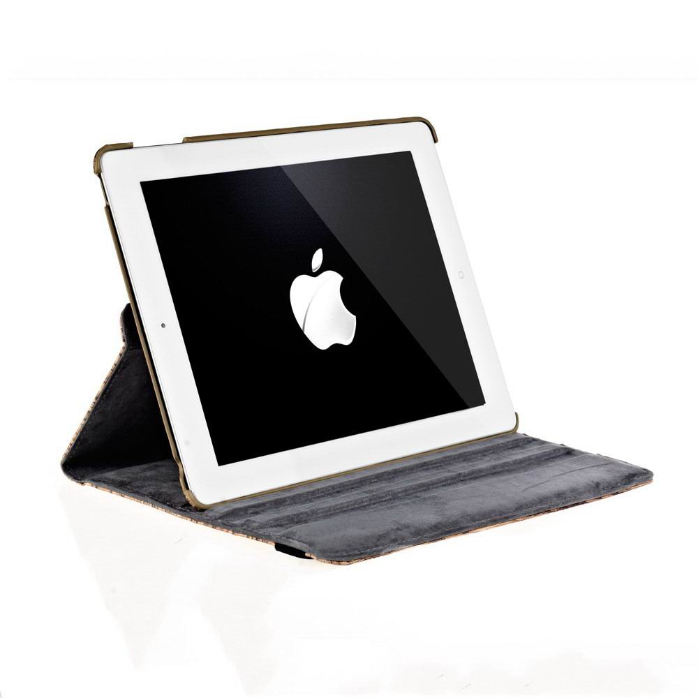 Case with wooden pattern for Apple iPad 2, iPad 3, iPad 4