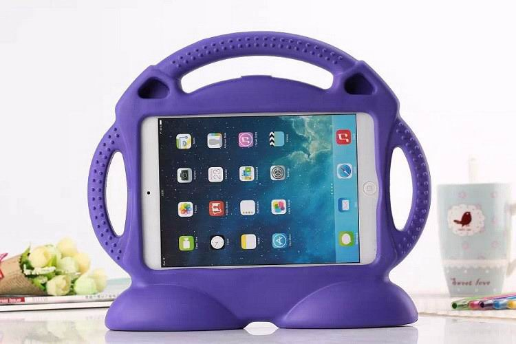 Cover with a smile & handle for children for Apple iPad Mini 1, iPad Mini 2, iPad Mini 3, Apple iPad 2, iPad 3, iPad 4