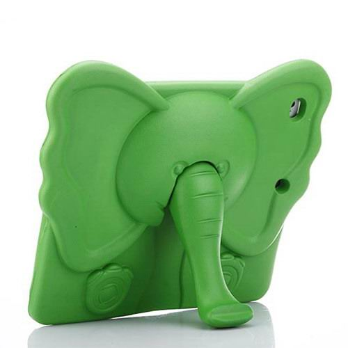 Cover with an elephant for children for Apple iPad 2, iPad 3, iPad 4, Apple iPad Mini 1, iPad Mini 2, iPad Mini 3, iPad Mini 4, Apple iPad Air 1, iPad Air 2