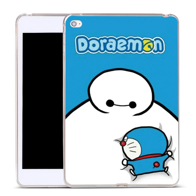 cover with cartoon pictures of doraemon bear cat apd other for apple ipad 00