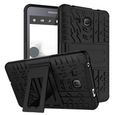 galaxy tab a 7 0 2016 cover with protective functionality and stand Black: