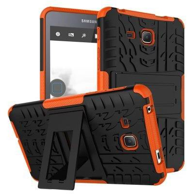 galaxy tab a 7 0 2016 cover with protective functionality and stand Orange: