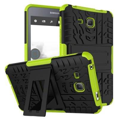 galaxy tab a 7 0 2016 cover with protective functionality and stand Green: