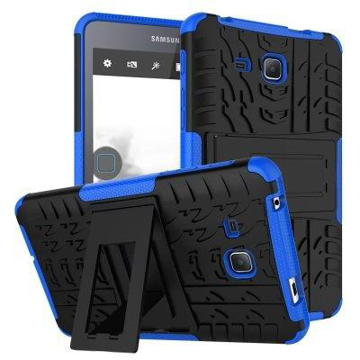 galaxy tab a 7 0 2016 cover with protective functionality and stand Blue:
