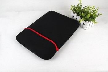 double sided sleeve with black and red colors 3 00