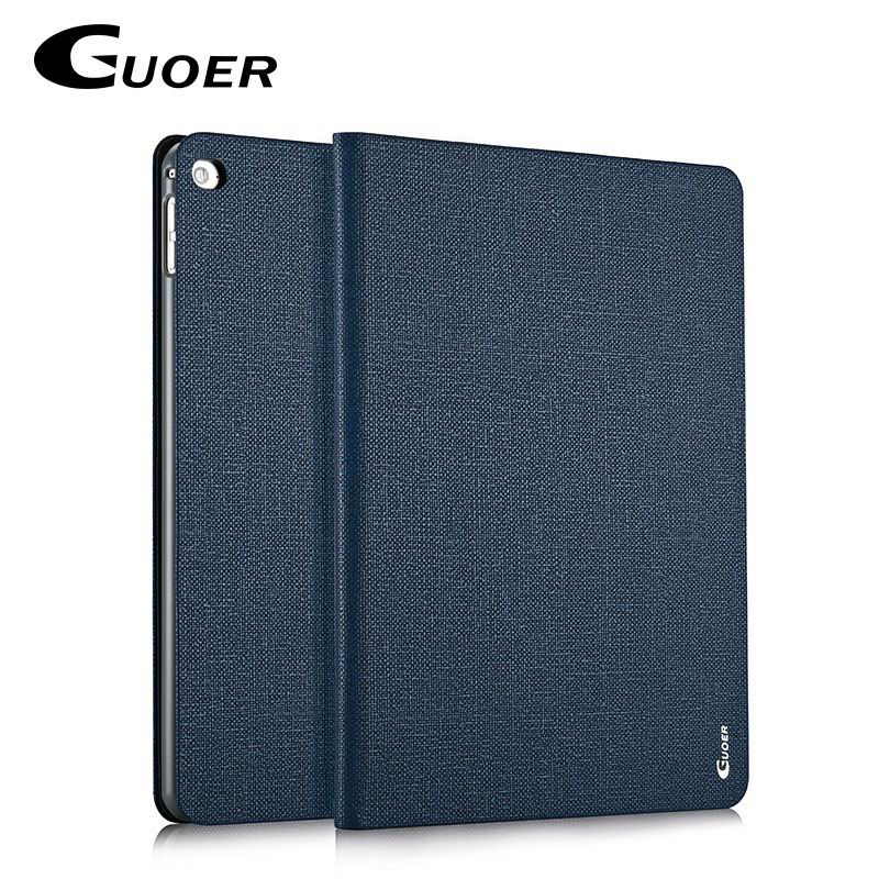ipad air 2 guoer case with business style milticolor pattern and stand