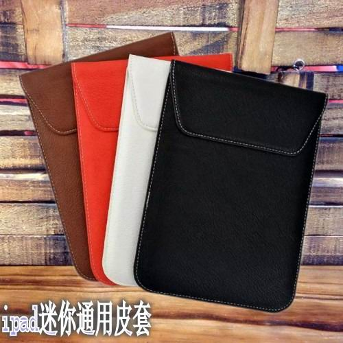 Handmade stitched sleeve with pocket for iPad Mini 1, iPad Mini 2, iPad Mini 3, iPad Mini 4