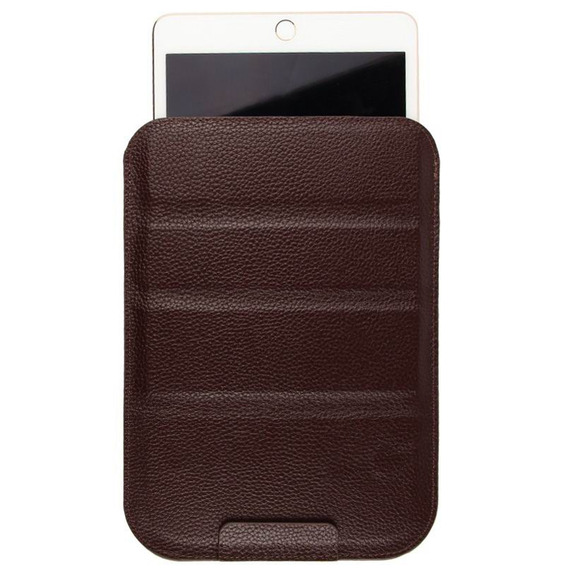 mediapad m3 milticolor sleeve with stand The first layer of leather brown:
