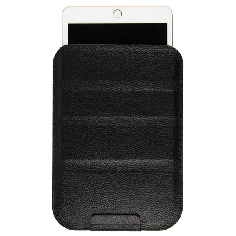 mediapad m3 milticolor sleeve with stand The first layer of leather black: