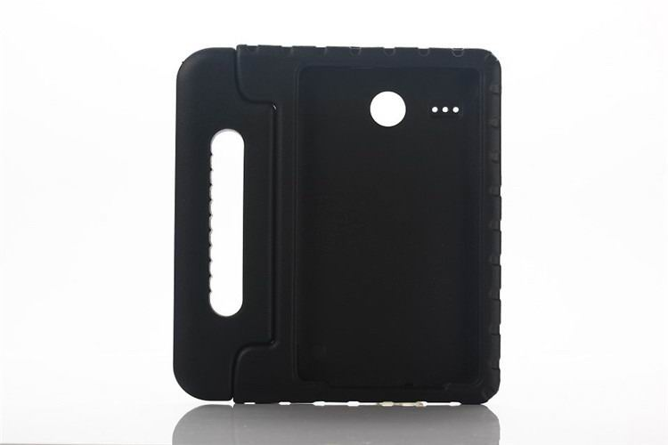 galaxy tab e 8 0 plastic cover children multicolor pattern with hand holder and stand 2 Black:
