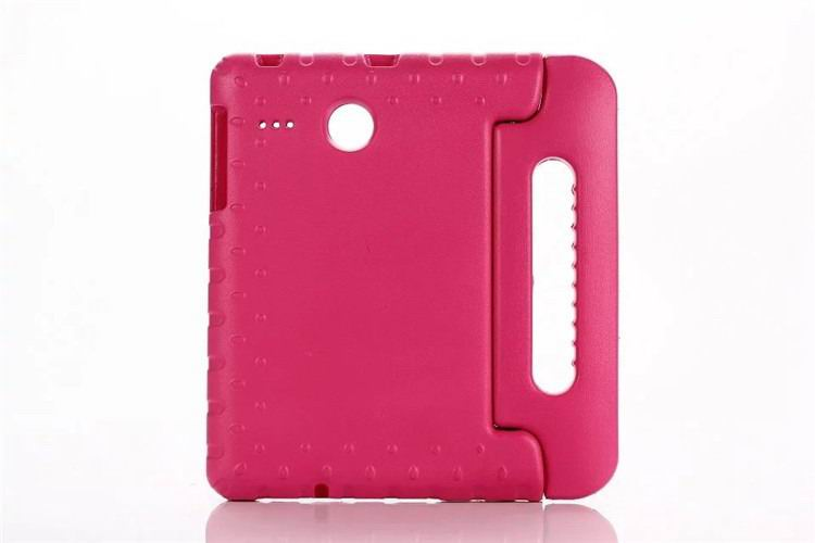 galaxy tab e 8 0 plastic cover children multicolor pattern with hand holder and stand 2