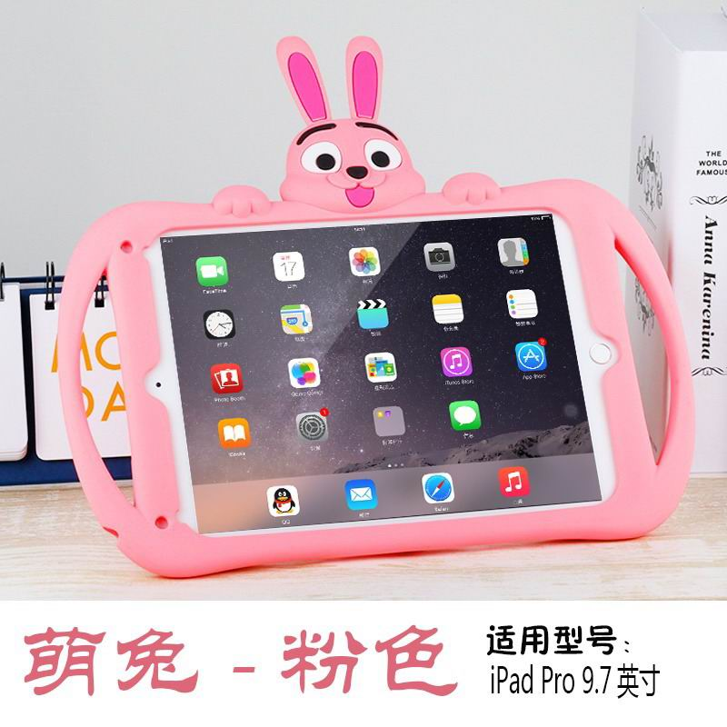 silicone cover with cartoon rabbit children 00