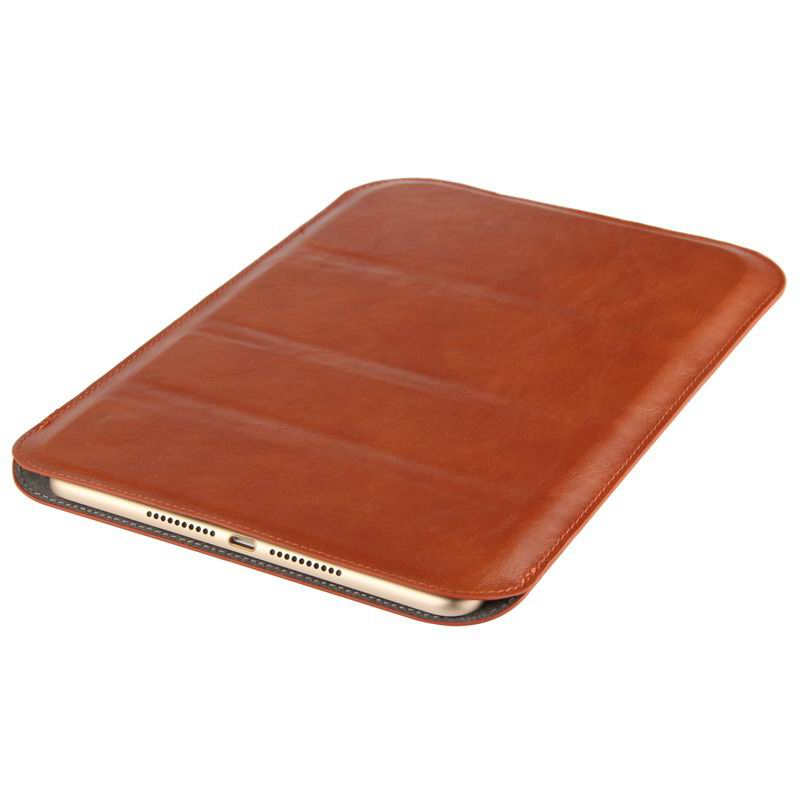 xperia z4 tablet sleeve with business style black and brown pattern and stand Elegant brown: