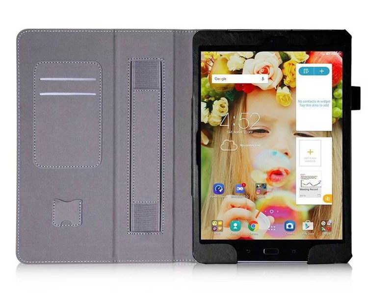 zenpad 3s business case stand and wirst loop Black: