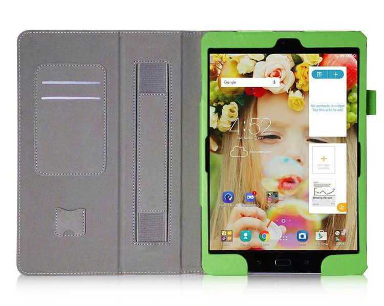 zenpad 3s business case stand and wirst loop Green: