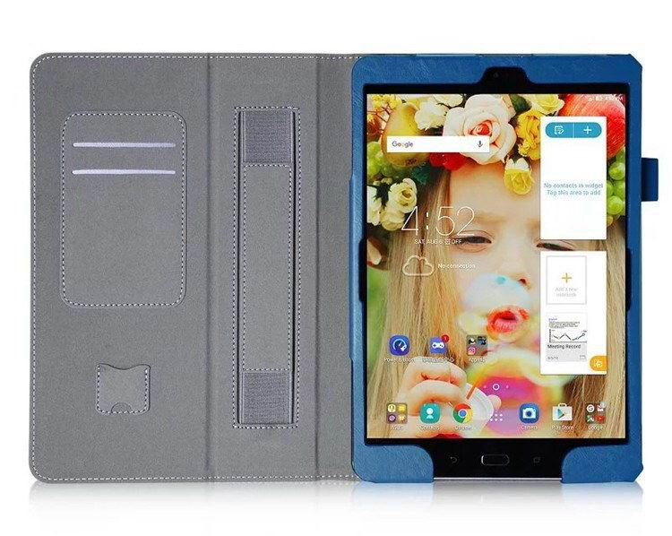 zenpad 3s business case stand and wirst loop Blue: