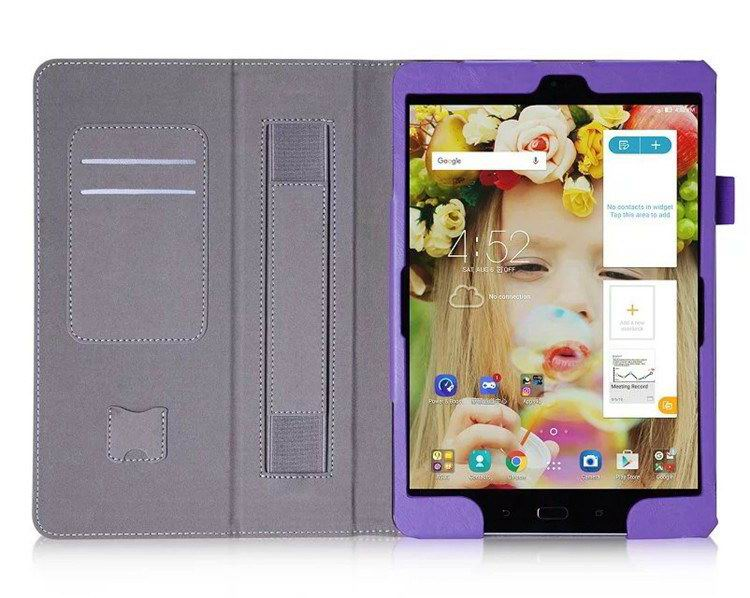 zenpad 3s business case stand and wirst loop Purple: