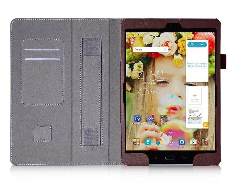 zenpad 3s business case stand and wirst loop Brown: