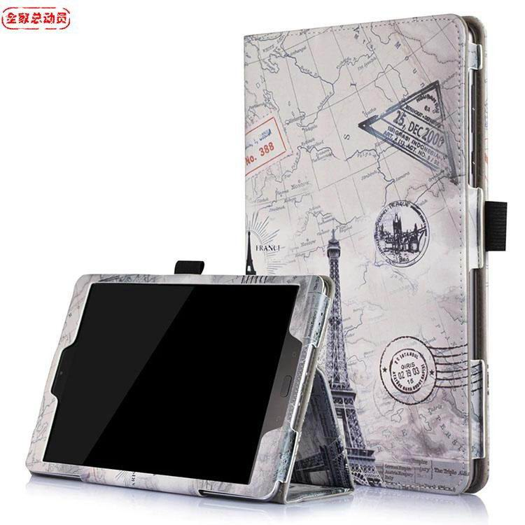 zenpad 3s business cases with illustratinos and stand Vintage Tower: